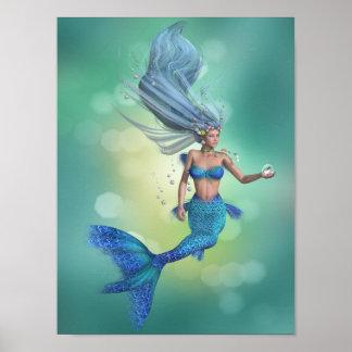 Enchanted Mermaid Poster