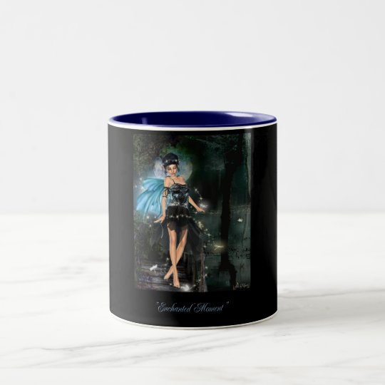 enchanted moment Two-Tone coffee mug