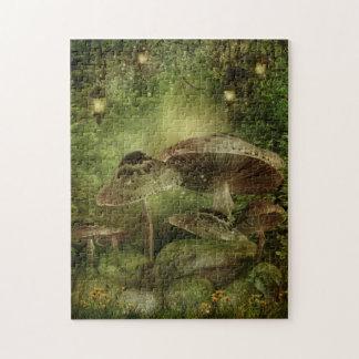 Enchanted Mushrooms Puzzle