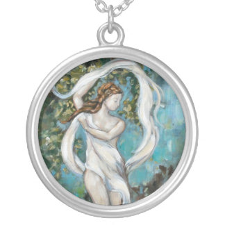 Enchanted Round Pendant Necklace