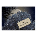 Enchanted Night Hotel Accommodation Insert Cards Business Card Templates