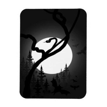 Halloween Themed Enchanted Night Magnet