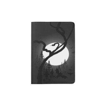 Halloween Themed Enchanted Night Passport Holder