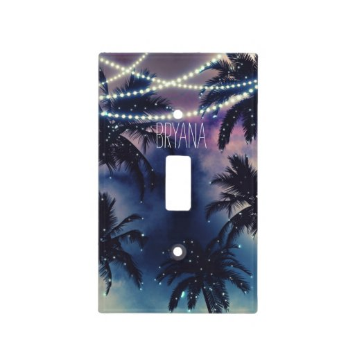 Enchanted Night Sky Evening Beach Lights Light Switch