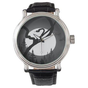 Halloween Themed Enchanted Night Wrist Watch