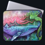 "Enchanted Ocean Art Computer Sleeve<br><div class=""desc"">Enchanted Ocean Art Products and Gifts was created from an Original Painting by Laura Barbosa Titled: &quot;Enchanted Ocean&quot;</div>"