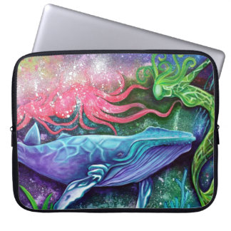 Enchanted Ocean Art Computer Sleeve