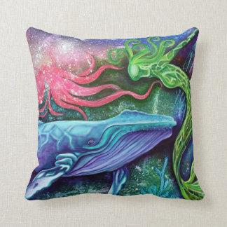 Enchanted Ocean Art Pillow