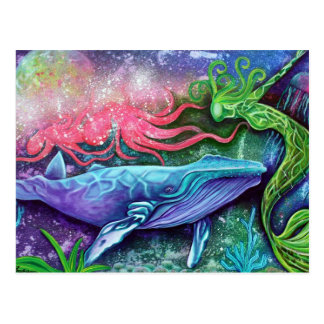 Enchanted Ocean Art Postcard