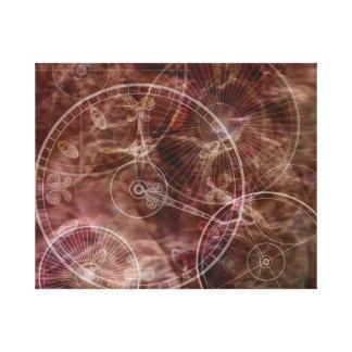 Enchanted Parchment Canvas Print