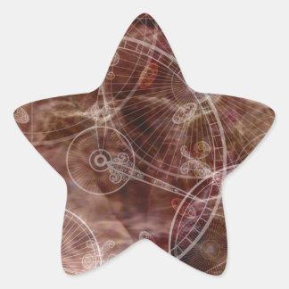 Enchanted Parchment Star Sticker