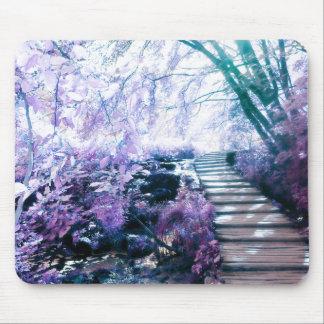 enchanted path mouse pad