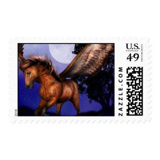 Enchanted Pegasus  Stamp