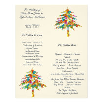 Enchanted Pine Tree Forest Wedding Letterhead