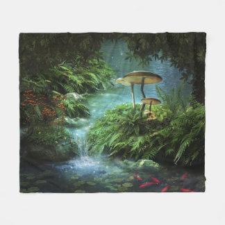Enchanted Pond Fleece Blanket