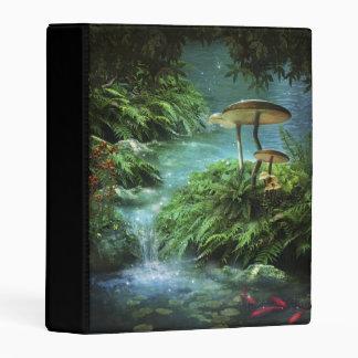 Enchanted Pond Mini Binder