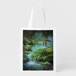 Enchanted Pond Reusable Grocery Bag