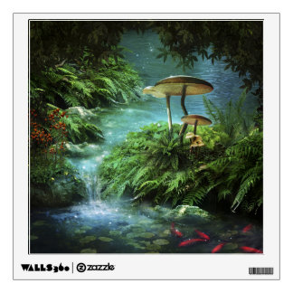Enchanted Pond Wall Decal
