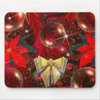 Enchanted Red Satin Mouse Pads