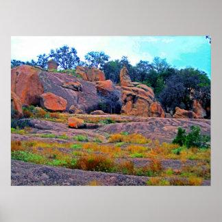 Enchanted Rock Poster