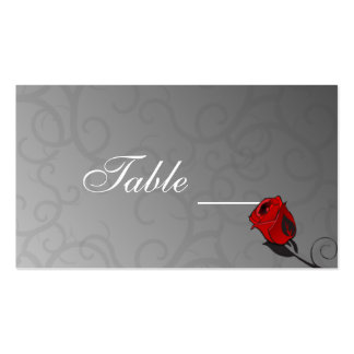 Enchanted Roses Table Card