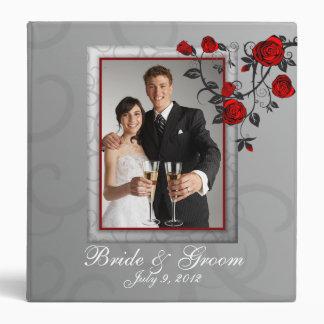 Enchanted Roses Wedding Photo Album Binder