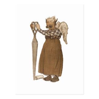 Enchanted Scissors Fairy Postcards