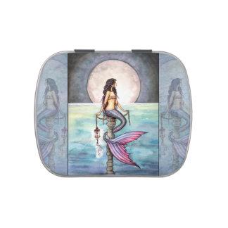 Enchanted Sea Mermaid Fantasy Art Jelly Belly Tin