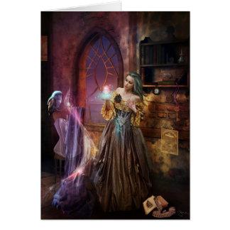 Enchanted Seamstress Card