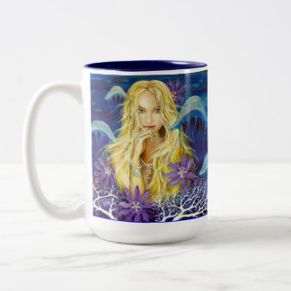 Enchanted Silence Two-Tone Coffee Mug