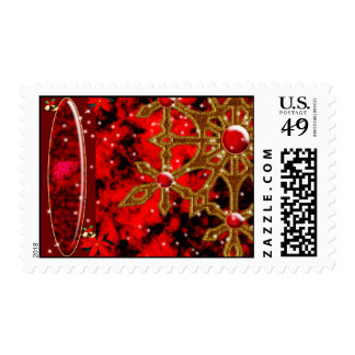 Enchanted Snowflake Postage