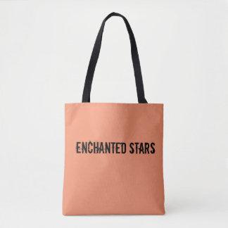 Enchanted  stars summer tote bag