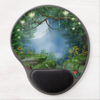 Enchanted Summer Night Gel Mouse Pad