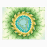 Enchanted Sun - Fractal Postcard