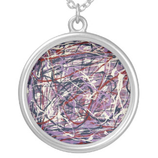 Enchanted Symphony Silver Plated Necklace