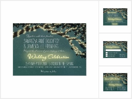 Enchanted Tree Branch Rustic Wedding Collection