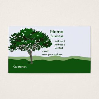Enchanted Tree Business Card Template