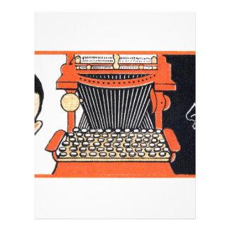 Enchanted Typewriter Letterhead