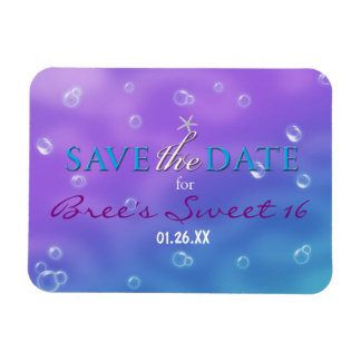 Enchanted Under The Sea Save the Date Magnet