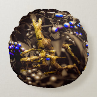 Enchanted Undergrowth Round Pillow