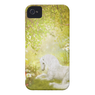 Enchanted Unicorn Forest Magical Kingdom Fantasy iPhone 4 Case-Mate Cases