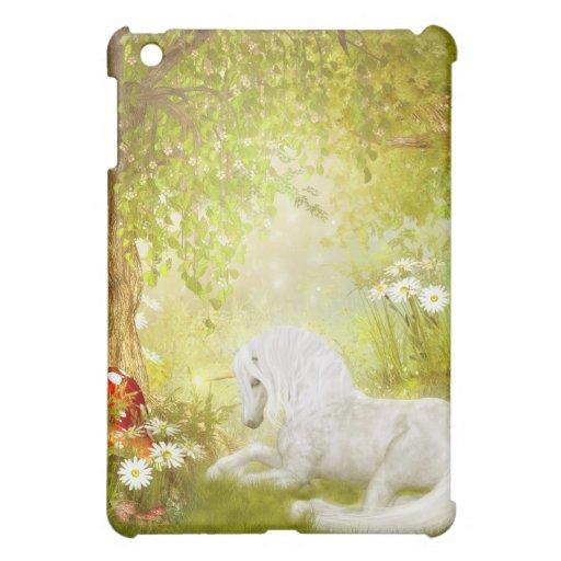 Enchanted Unicorn Forest Magical Kingdom Fantasy iPad Mini Case