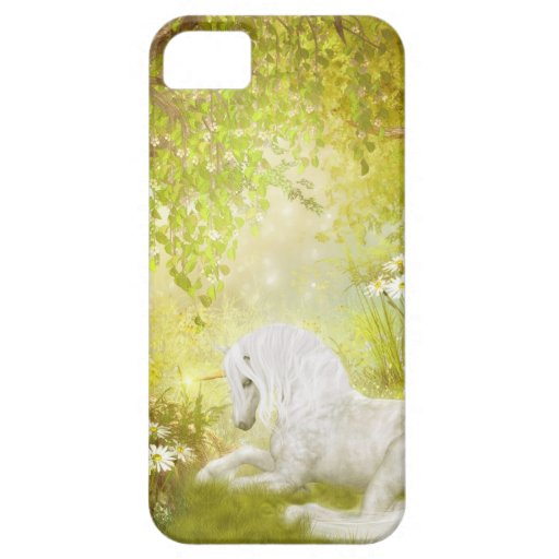 Enchanted Unicorn Forest Magical Kingdom Fantasy iPhone 5 Cases