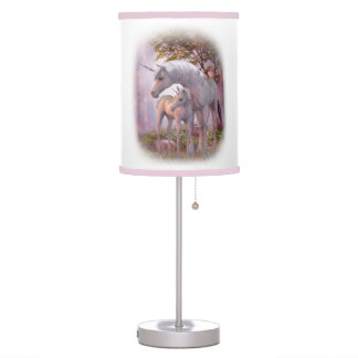 Enchanted Unicorns Table Lamp