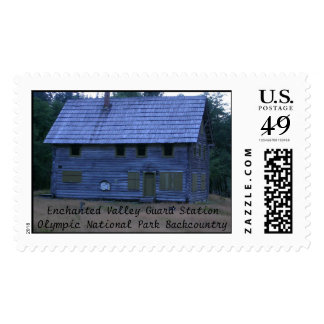 Enchanted Valley Guard Station Postage Stamp