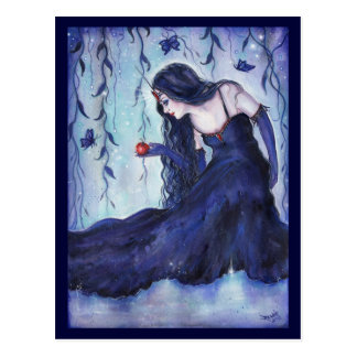 Enchanted visions fantasy art postcard By Renee L.