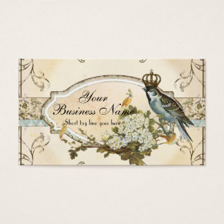 Enchanted Woodland Birds Advertising Businesses Business Card