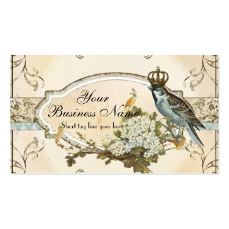 Enchanted Woodland Birds Advertising Businesses Double-Sided Standard Business Cards (Pack Of 100)