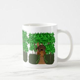 Enchanting Birdhouse Cottage Mug