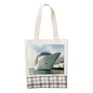 Enchanting Bow and Stern Zazzle HEART Tote Bag